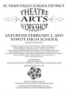 Theatre Arts Workshop