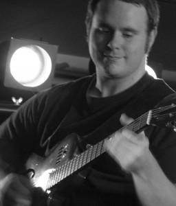 Vic Dillahay on Guitar
